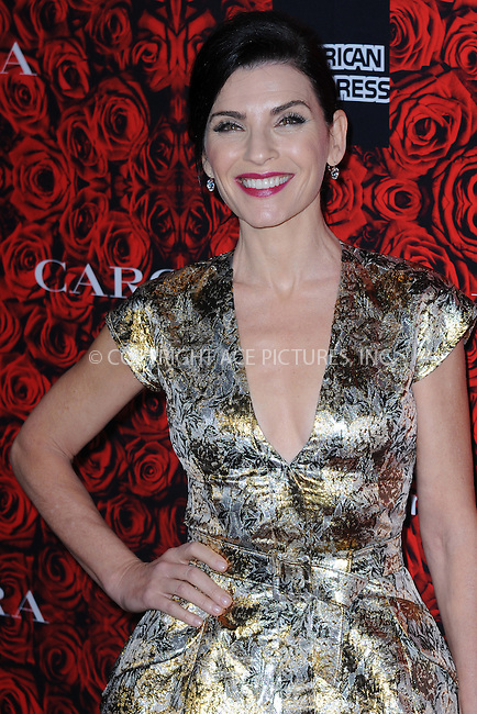 www.acepixs.com<br /> <br /> December 6 2016, New York City<br /> <br /> Julianna Margulies arriving at An Evening Honoring Carolina Herrera at Alice Tully Hall at the Lincoln Center on December 6, 2016 in New York City.<br /> <br /> By Line: Kristin Callahan/ACE Pictures<br /> <br /> <br /> ACE Pictures Inc<br /> Tel: 6467670430<br /> Email: info@acepixs.com<br /> www.acepixs.com