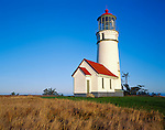 Curry County, OR  <br /> Cape Blanco Lighthouse (1870) stands at 59ft, on the western most point of the continental United States