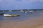 AE2KR9 Boats Brancaster Staithe, Norfolk, England