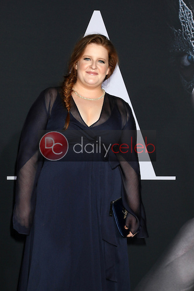 """Frances, Sophie Frances Cooke<br /> at the """"Fifty Shades Darker"""" World Premiere, The Theater at Ace Hotel, Los Angeles, CA 02-02-17<br /> David Edwards/DailyCeleb.com 818-249-4998"""