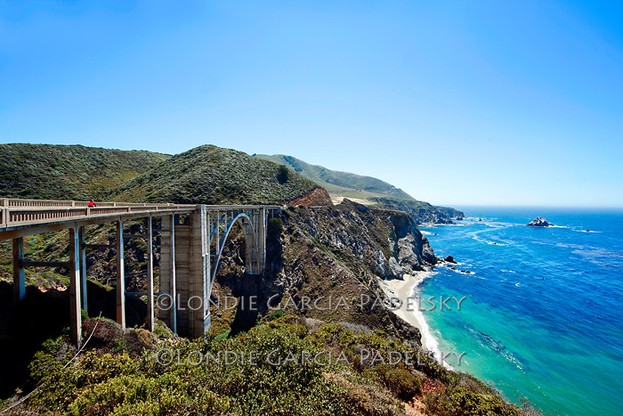 California Highway 1 Bridge