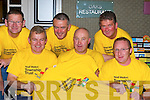Killarney builders l-r: Vincent Sheahan, John Fuller, Liam McGuire, Dan McAulliffe, Kevin Griffin and Paul Fitzgerald who are raising funds for their Niall Mellon township challenge at their table quiz in the Killarney Oaks Thursday night   Copyright Kerry's Eye 2008