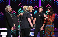 08 June 2016 - Nashville, Tennessee - Phillip Sweet, Kimberly Schlapman, Jimi Westbrook, Karen Fairchild, Little Big Town. 2016 CMT Music Awards held at Bridgestone Arena. Photo Credit: Laura Farr/AdMedia