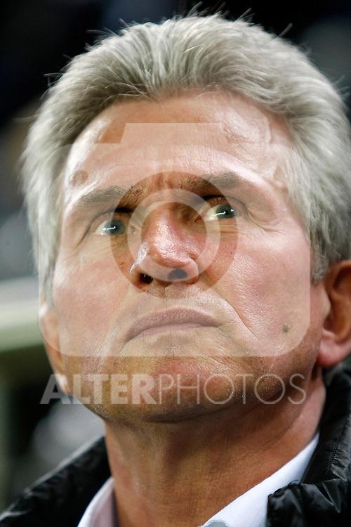 Bayer 04 Leverkusen's coach Josef Heynckes during UEFA Europa League match.March 17,2011. (ALTERPHOTOS/Acero)