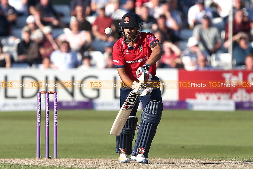 Ravi Bopara in batting action for Essex during Essex Eagles vs Yorkshire Vikings, Royal London One-Day Cup Play-Off Cricket at The Cloudfm County Ground on 14th June 2018