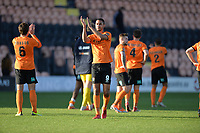 Byron Harrison Of Barnet At the Final Whistle Applause Fan's during Barnet vs Bristol Rovers, Emirates FA Cup Football at the Hive Stadium on 11th November 2018