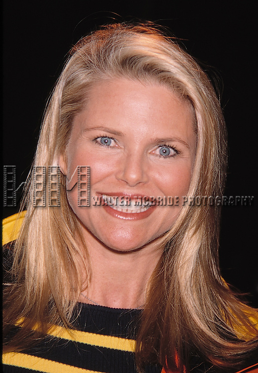 "Christie Brinkley at Walt Disney's opening of ""Asia"" in Orlando, Florida. March 18, 1999"