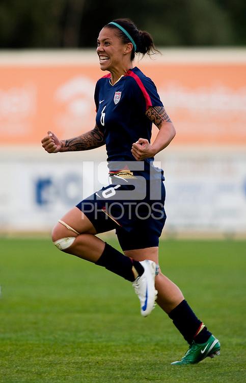 Natasha Kai.  The USWNT defeated Iceland, 1-0, at Ferreiras, Portugal.