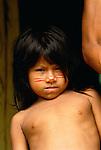 Jivaro child, Amazon region, Peru