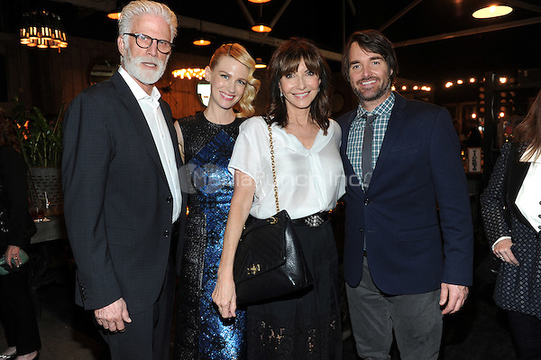LOS ANGELES - FEBRUARY 24: Ted Danson, January Jones, Mary Steenburgen, and Will Forte at an exclusive screening of the premiere episode of FOX's 'The Last Man on Earth' at Big Daddy's Antique Shop on February 24, 2015 in Los Angeles, California. Credit: PGFM/MediaPunch