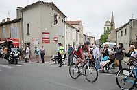 Greg Van Avermaet (BEL/BMC) is part of an elite group of race leaders<br /> <br /> stage 10: Escaldes-Engordany (AND) - Revel (FR)<br /> 103rd Tour de France 2016