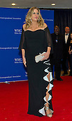 Jennifer Coolidge arrives for the 2015 White House Correspondents Association Annual Dinner at the Washington Hilton Hotel on Saturday, April 25, 2015.<br /> Credit: Ron Sachs / CNP