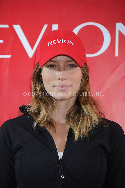 WWW.ACEPIXS.COM . . . . . ....May 2 2009, New York City....Actress Jessica Biel at the 12th Annual EIF Revlon Run/Walk For Women at Times Square on May 2, 2009 in New York City....Please byline: KRISTIN CALLAHAN - ACEPIXS.COM.. . . . . . ..Ace Pictures, Inc:  ..tel: (212) 243 8787 or (646) 769 0430..e-mail: info@acepixs.com..web: http://www.acepixs.com