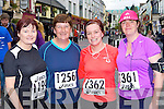 Ann McGlynn, Kathleen Brosnan, Nuala English and Emer Fenton Currow who participated in the Killarney Womens mini marathon on Saturday..