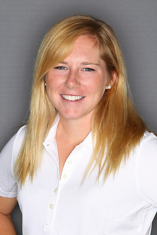 Denton, TX - AUGUST 31: University of North Texas Women's Golf Team head shot of Chaz Chrismer at Bridlewood Country Club on August 31, 2012 in Flower Mound, Texas. (Photo by Rick Yeatts)