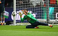 Torwart Alisson (Brasilien Brasilia) - 27.03.2018: Deutschland vs. Brasilien, Olympiastadion Berlin