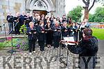 """A Dawn Chorus"" drawn from a number of local choirs performed at the ceremonial rasing of USA Flag over the Town Hall to mark the 4th July Celebrations in Killarney Town. Photo Marek Hajdasz www.mhphotos.ie"