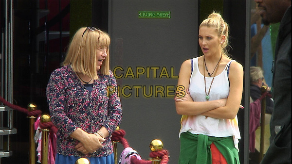Kellie Maloney and Stephanie Pratt<br /> in Celebrity Big Brother - Summer 2014 (Day 7)<br /> *Editorial Use Only*<br /> CAP/NFS<br /> Image supplied by Capital Pictures
