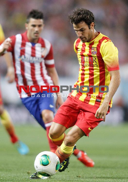 FC Barcelona's Cesc Fabregas during Supercup of Spain 1st match.August 21,2013. Foto © nph / Acero)