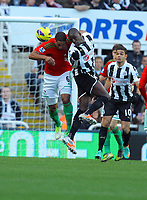 Saturday 17 November 2012<br /> Pictured: Ashley Williams of Swansea<br /> Re: Barclay's Premier League, Newcastle United v Swansea City FC at St James' Park, Newcastle Upon Tyne, UK.