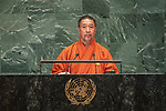 LOS general debate &ndash; 27 September<br /> <br /> PM<br /> <br /> His Excellency Lyonpo Tshering WANGCHUK Acting Head of Government of the Kingdom of Bhutan