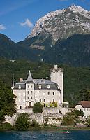 Europe/France/Rhône-Alpes/74/Haute-Savoie/Lac d'Annecy/Duingt: Château de ChâteauvieuX, Château de Ruphy, Château médiéval,  XI ème siècle, 11 ème siècle