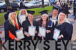 First cohort of women from the travelling community who graduate today with a Certificate in the Fundamentals of Culinary and Pastry Operations Nora Coffey , Kathleen Coffey  Noreen Sparling, Teresa McCarthy, Kathleen McCarthy, Ann O'Brien at the Institute of Technology Tralee  Autumn Conferring of Awards Ceremony at the Brandon Hotel on Friday