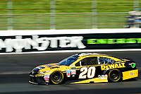 July 16, 2017 - Loudon, New Hampshire, U.S. - Matt Kenseth, Monster Energy NASCAR Cup Series driver of the Dewalt Flexvolt Toyota (20), races at the NASCAR Monster Energy Overton's 301 race held at the New Hampshire Motor Speedway in Loudon, New Hampshire. Eric Canha/CSM