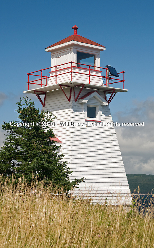 View of the Lighthouse Woody Point Newfoundland and Labrador