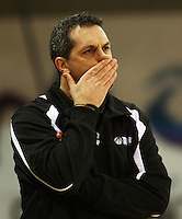 Tall Ferns coach Shawn Dennis during the International women's basketball match between NZ Tall Ferns and Australian Opals at Te Rauparaha Stadium, Porirua, Wellington, New Zealand on Monday 31 August 2009. Photo: Dave Lintott / lintottphoto.co.nz