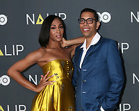 LOS ANGELES - JUL 27:  Mj Rodriguez, Steven Canals at the NALIP 2019 Latino Media Awards at the Dolby Ballroom on July 27, 2019 in Los Angeles, CA