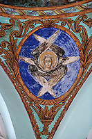 Holy Monastery of Great Lavra,Megiste Lavra,dedicated to Saint Athanasios Athonite,main entrance,Athos Peninsula,Mount Athos,Chalkidiki,Greece