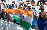 The Indian fans out in numbers during India vs New Zealand, ICC World Cup Warm-Up Match Cricket at the Kia Oval on 25th May 2019