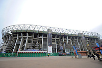 A general view outside Twickenham Stadium. The Clash, Aviva Premiership match, between Bath Rugby and Leicester Tigers on April 7, 2018 at Twickenham Stadium in London, England. Photo by: Patrick Khachfe / Onside Images