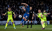 Bolton Wanderers' Ethan Hamilton (right) shoots at goal as Rochdale's Jimmy Ryan (centre) defends<br /> <br /> Photographer Andrew Kearns/CameraSport<br /> <br /> The EFL Sky Bet League One - Rochdale v Bolton Wanderers - Saturday 11th January 2020 - Spotland Stadium - Rochdale<br /> <br /> World Copyright © 2020 CameraSport. All rights reserved. 43 Linden Ave. Countesthorpe. Leicester. England. LE8 5PG - Tel: +44 (0) 116 277 4147 - admin@camerasport.com - www.camerasport.com