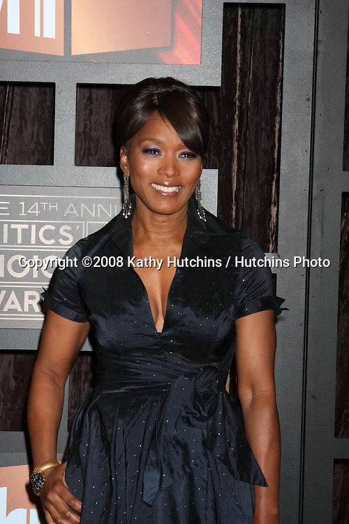 Angela Bassett  arriving at the  Critic's Choice Awards at the Santa Monica Civic Center, in Santa Monica , CA on .January 8, 2009.©2008 Kathy Hutchins / Hutchins Photo..                .