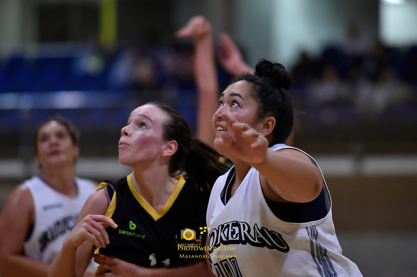 Chelse Rudolph in action during the WBC - Te Tai Takerau Pheonix v Taranaki Thunder at Te Rauparaha Arena, Porirua, New Zealand on Friday 5 June 2015.<br />