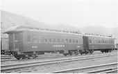 Coach #300, D&amp;RGW at Salida.<br /> D&amp;RGW  Salida, CO  7/1940
