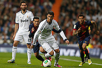 30.01.2013 SPAIN -  Copa del Rey 12/13 Matchday 1/4  match played between Real Madrid CF vs  F.C. Barcelona (1-1) at Santiago Bernabeu stadium. The picture show Cristiano Ronaldo (Portuguese forward of Real Madrid)