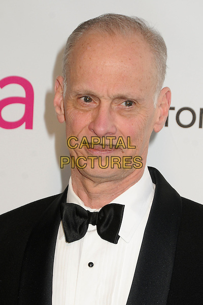 John Waters.21st Annual Elton John Academy Awards Viewing Party held at West Hollywood Park, West Hollywood, California, USA..February 24th, 2013.oscars headshot portrait bow tie white tuxedo jacket black moustache mustache facial hair.CAP/ADM/BP.©Byron Purvis/AdMedia/Capital Pictures.
