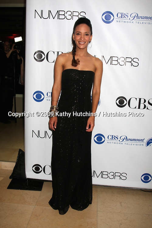 Sophina Brown arriving at the Numb3rs 100th Episode Party at the Sunset Tower Hotel in West Hollywood,  California on April 21, 2009.©2009 Kathy Hutchins / Hutchins Photo....                .