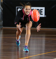 Silver Ferns Training 061013
