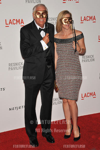 "Garry Marshall & date at a benefit gala at the Los Angeles County Museum of Art (LACMA) to celebrate the official ""unmasking"" of the museum's newest building, The Lynda and Stewart Resnick Exhibition Pavilion..September 25, 2010  Los Angeles, CA.Picture: Paul Smith / Featureflash"