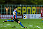Hon Ho Li of Wofoo Tai Po in action during the Dreams FC vs Wofoo Tai Po match of the week one Premier League match at the Aberdeen Sports Ground on 26 August 2017 in Hong Kong, China. Photo by Yu Chun Christopher Wong / Power Sport Images