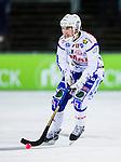 Uppsala 2013-11-13 Bandy Elitserien IK Sirius - IFK Kung&auml;lv :  <br /> Kung&auml;lv Peter Karlsson i aktion <br /> (Foto: Kenta J&ouml;nsson) Nyckelord:  portr&auml;tt portrait