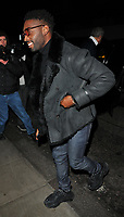 Tinie Tempah ( Patrick Okogwu ) at the LFW (Men's) a/w2018 GQ Dinner, Berners Tavern, The London Edition Hotel, Berners Street, London, England, UK, on Monday 08 January 2018.<br /> CAP/CAN<br /> &copy;CAN/Capital Pictures