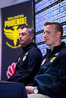 Wellington Phoenix announce signing of Michal Kopczynski at Westpac Stadium in Wellington, New Zealand on Wednesday, 24 July 2018. Photo: Dave Lintott / lintottphoto.co.nz