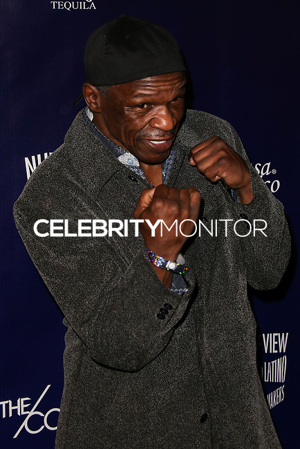 HOLLYWOOD, CA - FEBRUARY 18: Floyd Mayweather, Sr. at the NUVOtv Series Launch Premiere Party held at Siren Studios on February 18, 2014 in Hollywood, California. (Photo by Xavier Collin/Celebrity Monitor)