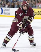Benn Ferreiro - The Boston College Eagles defeated the University of Maine Black Bears 4-1 in the Hockey East Semi-Final at the TD Banknorth Garden on Friday, March 17, 2006.