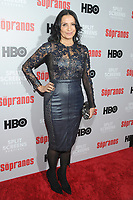 NEW YORK, NEW YORK - JANUARY 09:Kathrine Narducci attends the 'The Sopranos' 20th Anniversary Panel Discussion at SVA Theater on January 09, 2019 in New York City. <br /> CAP/MPI/JP<br /> ©JP/MPI/Capital Pictures